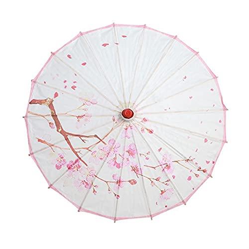 YSYSPUJ Regenschirm Alte dekorative Regenschirm-chinesische Art-Öl-Papier-Regenschirm-Öl-Papier-Papier-Papier-lackierte Regenschirm-Jäten-Dekorations-Foto-Requisiten (Color : A4)