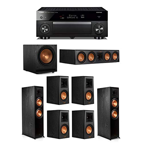 Great Features Of Klipsch 7.1.2 System - 2 RP-8060FA Speakers,1 RP-504C,4 RP-500M Speakers,1 SPL-120...