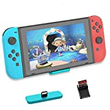Bluetooth Adapter for Nintendo Switch & Lite,USB-C Wireless Audio Transmitter Connector with All Bluetooh Compatible with PS4/PC and Support 2 Headphones/Speakers (Turquoise)