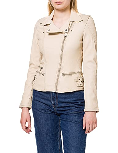 Goosecraft Gc Nena Biker Leather Jacket para Mujer