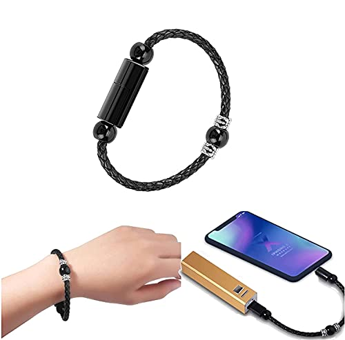 Prayer Beads Charging Bracelets Cable,usb Bracelet Charger,fast Charging Cable (Type-C)