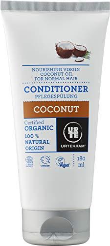 Urtekram Kokos Conditioner BIO, mit nahrhaftem und nativem Kokosöl , 180 ml