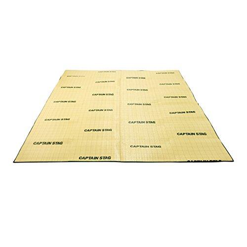 キャプテンスタッグ キャンピングフロアマット260×260cm M-3306
