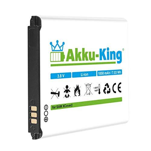 Akku-King Akku kompatibel mit Samsung EB485159LA, EB485159LU - Li-Ion 1850mAh - für Galaxy XCover 2, GT-S7710