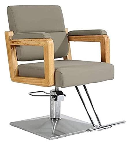 Sillón de peluquero reclinable hidráulico multiusos, sillones de peluquero Sillón de peluquería hidráulico reclinable de alta resistencia Sillón giratorio de peluquería de belleza, equipo de champú p