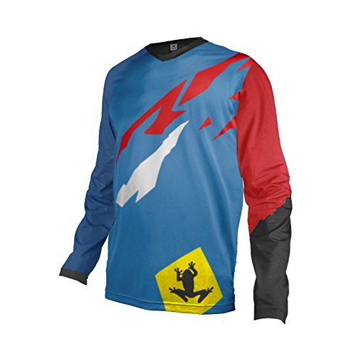 Uglyfrog Designs Bike Wear Mens Downhill Motocross Jersey Rage MTB Cycling Top Cycle Long Sleeve Spring Mountain Bike Shirt