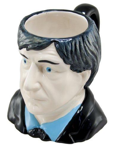 Doctor Who Ceramic 3D Mug - Patrick Troughton (2nd Dr)