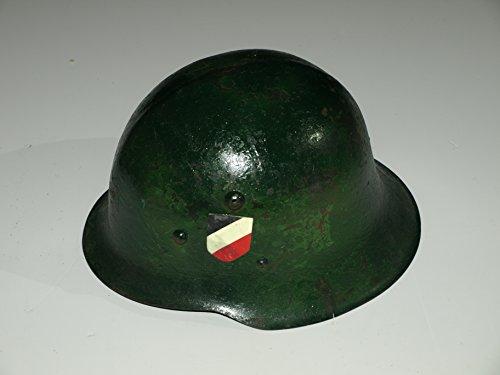 Lagermaulwurf Stahlhelm verbündete Wehrmacht ,Gr. 56 Film 2.Weltkrieg Uniform