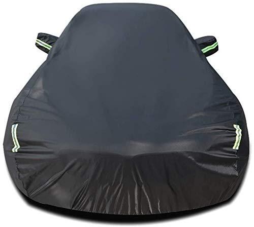 Zfggd Cubiertas de Coche Compatible con For Nissan 350Z protección for Cualquier estación automática del Protector Impermeable de Las Cubiertas Exteriores de automóviles Sun Refugios La protección de