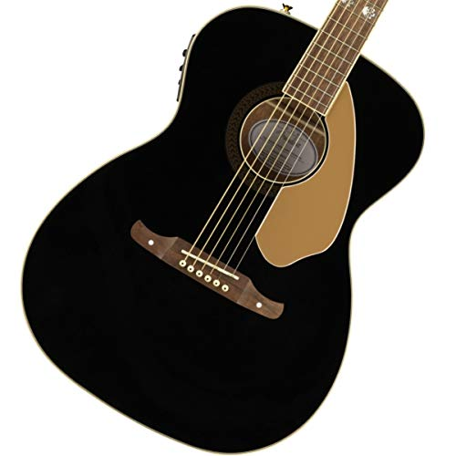 Fender Tim Armstrong 10th Anniversary Hellcat, Walnut Fingerboard, Acoustic Electric Guitar - Black