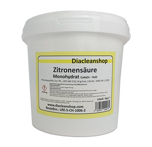 Zitronensäure Pulver 1kg - reiner als Lebensmittelqualität E330 1000g