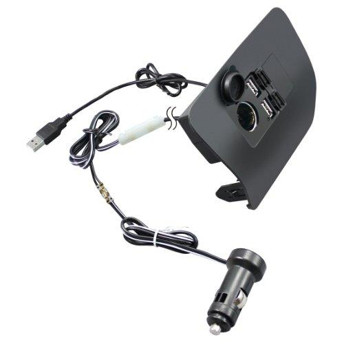 槌屋ヤック 車用 電源ソケットBOX フロントコンソール 30系プリウス専用 SY-P1