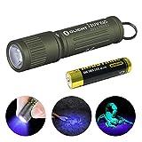 OLIGHT i3UV EOS EDC Keyring UV LED Torch Flashlight, Ultraviolet Torch 395nm Single