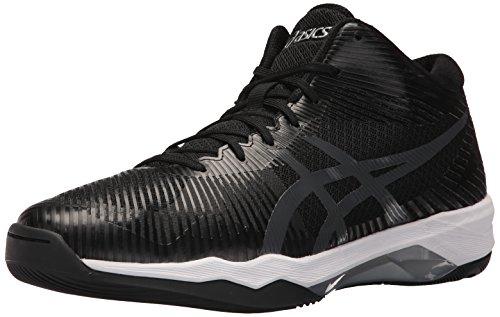 ASICS Men's Volley Elite FF MT Volleyball Shoe, Black/Dark...