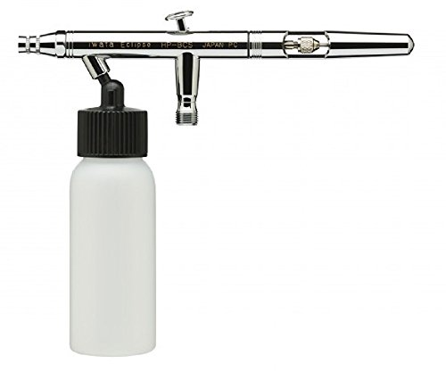 Iwata Eclipse HP-BCS Dual Action Siphon Feed Airbrush Bottle and Hose