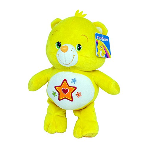 Superstar Bärchi 24/30cm Super Weich Bär Die Glücksbärchis Care Bears Gelb Stern Bär Teddybär Plüschtier