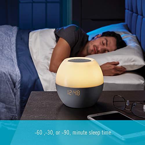 Homedics SoundSpa Sunrise Simulation Wake Light