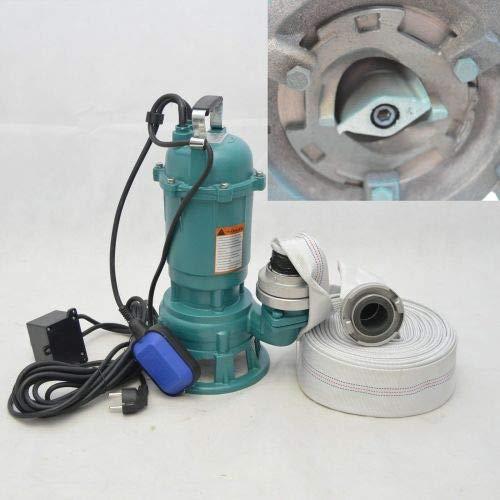 Fäkalienpumpe Tauchpumpe Schmutzwasserpumpe 550W - 15000l/h m. Schneidmesser / Cutter CTR-550