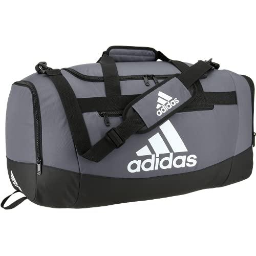 adidas Defender 4 Medium Duffel Bag, Bolsa Unisex Adulto, Team Onix Grey, Talla única
