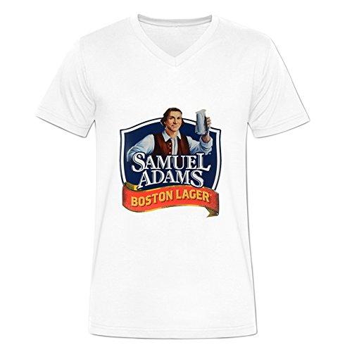 Camiseta de cuello para hombre Samuel Adams cerveza