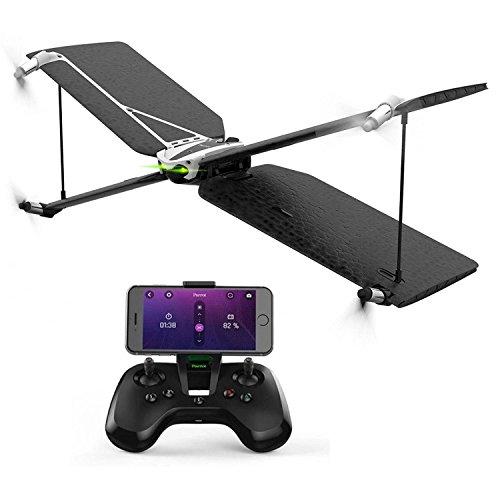 Parrot Drone Swing con FlyPad–Motivo aeronáutico–Compatibile iOS 7e Android 4.4–Sensori IMU–Fotocamera 3000000PX–Batteria