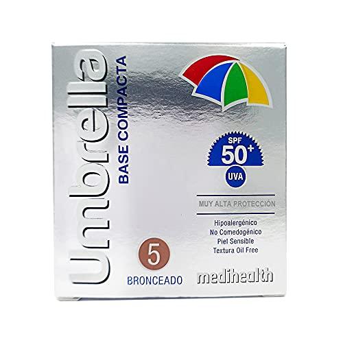 Maquillaje Spf 50  marca UMBRELLA