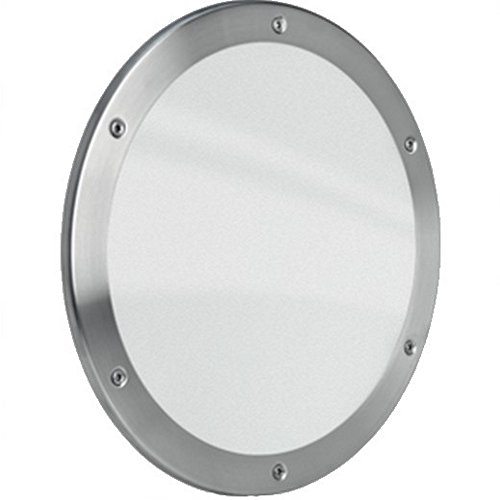 MLS Bullauge B5000 Rundfenster Edelstahl gebürstet Ø 25 cm Glas klar 0180-0180