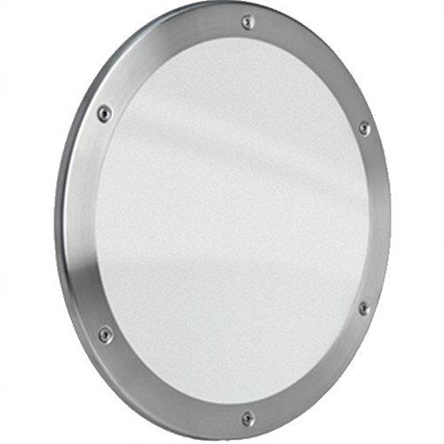 MLS Bullauge B5000 Rundfenster Edelstahl gebürstet Ø 30 cm Glas klar 0180-0181