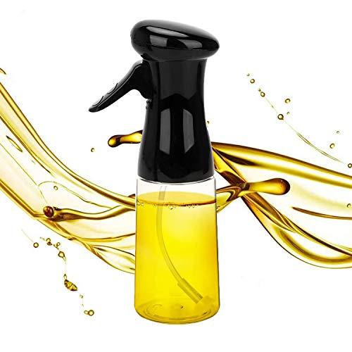 STSUNEU Ergonomically Olive Oil Sprayer, 7.1oz Upgrated Olive Oil Sprayer Mister for Cooking BBQ Roasting Salad Baking