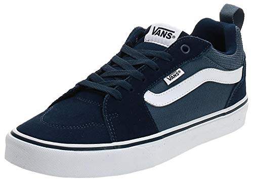 Vans Filmore, Sneaker Hombre, Azul ((Suede Canvas) Dress Blues/Vintage Indigo T2l), 40 EU