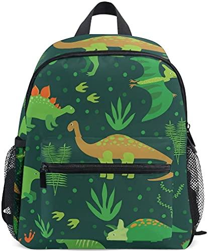 Vintage Dinosaur Kid's Toddler Backpack Dinosaur Toddler Bag for Boys Girls,Kindergarten Schoolbag Preschool Nursery Travel Bag...