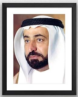 الصورة الرسمية لسمو الشيخ الدكتور سلطان بن محمد القاسمي (black)