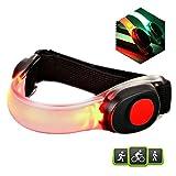 Echelon Line LED Armband Leuchtband Laufband - Reflektorband Sicherheitslicht für alle Outdoor...