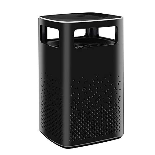 EIGHTT Elektrische Moskito-Mörder USB Powered Mosquito Töten Lampe Umweltfreundlich Einatmen Mute insektenabweisenden Lampe for Haushalt Büro Innen und Außeneinsatz (Color : Black)
