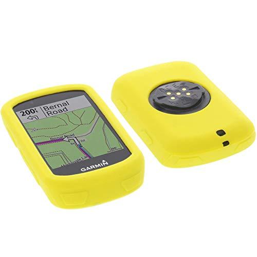 foto-kontor Funda para Garmin Edge 530 Protectora Silicona Carcasa protección Amarilla