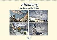 Altenburg, die Stadt des Skat-Spiels (Wandkalender 2022 DIN A2 quer): Eine aussergewoehnliche Stadt, wo immer noch Kartenspiele hergestellt werden. (Monatskalender, 14 Seiten )