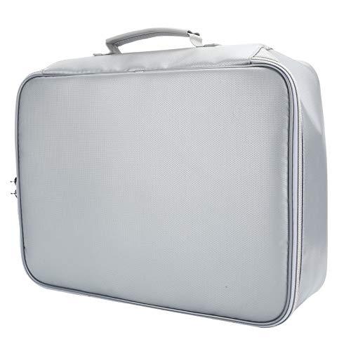 Bolsa para Tarjetas de Viaje, Organizador de pasaportes, Resistente al Fuego para el hogar Seguro de la Oficina del casillero