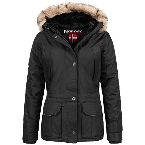 Geographical Norway Amadel Lady Winter Jacke Schwarz Gr. XL