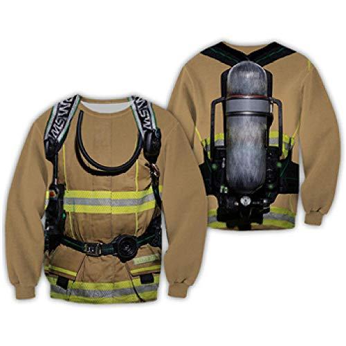3D Hoodie Sommer Sweatshirts Männer Firefighter Outfit Hoodies Harajuku Streetwear Bewerben Sie Sich Beispielsweise Auf Reisen Klettern Radfahren Outdoor Fitness Etc-Color_As_The_Picture_XXL
