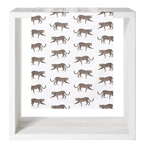 Proflax Tischläufer Tambo | 100 Natur - 50 x 160 cm