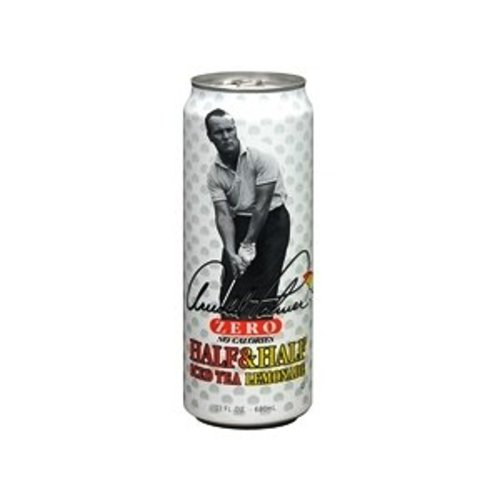Arizona Palmer Zero, Half and Half, Tea and Lemonade, 23 Ounce (Pack of 24)