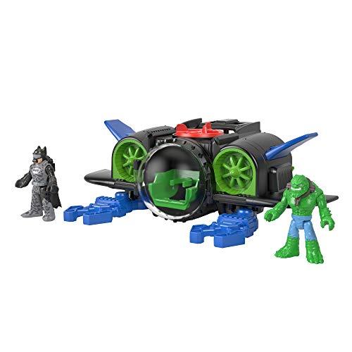 Imaginext DC Super Friends Batsub Vehicle & Figures Playset