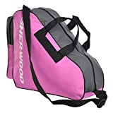 Sherwood 1032767 Bolsa para Patines, Color Rosa, tamaño Medium