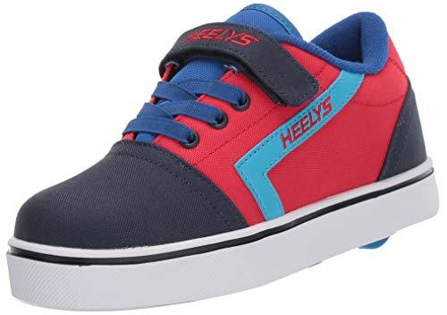 Heelys Unisex-Kinder GR8 Pro X2 (he100612) Sneaker, Blau (Red/Navy/Royal Red/Navy/Royal), 33 EU