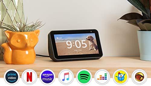 Echo Show 5 - Smart Speaker com tela de 5,5' e Alexa - Cor Preta
