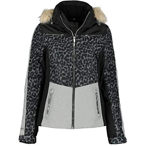 McKINLEY Beverly Ski-jack voor dames, rood, licht/zwart