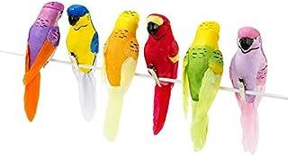 Prim Tropical Birds Craft Birds Fake Birds 6 Birds