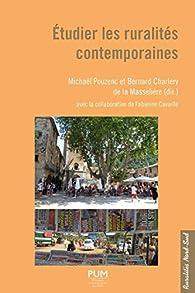 Etudier les ruralités contemporaines par Michaël Pouzenc