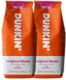 Dunkin' Donuts Ground Coffee 1 LB. Bag Multi Pack (Orriginal, Two Pack)