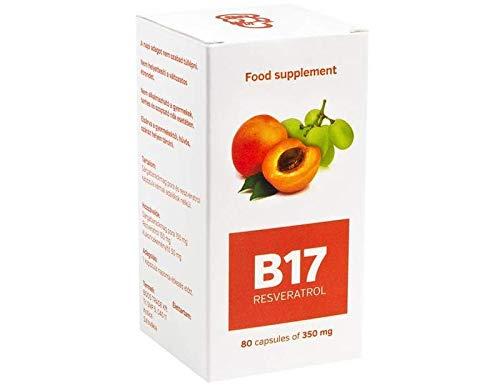 Vitamina B17 con Resveratrolo - Integratore alimentare - 80 Capsule